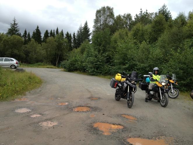 Three forest lochs drive
