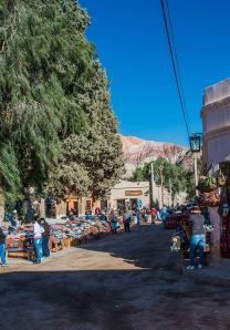 The hustle bustle of Purmamarca, a bohemian  jewel in the desert