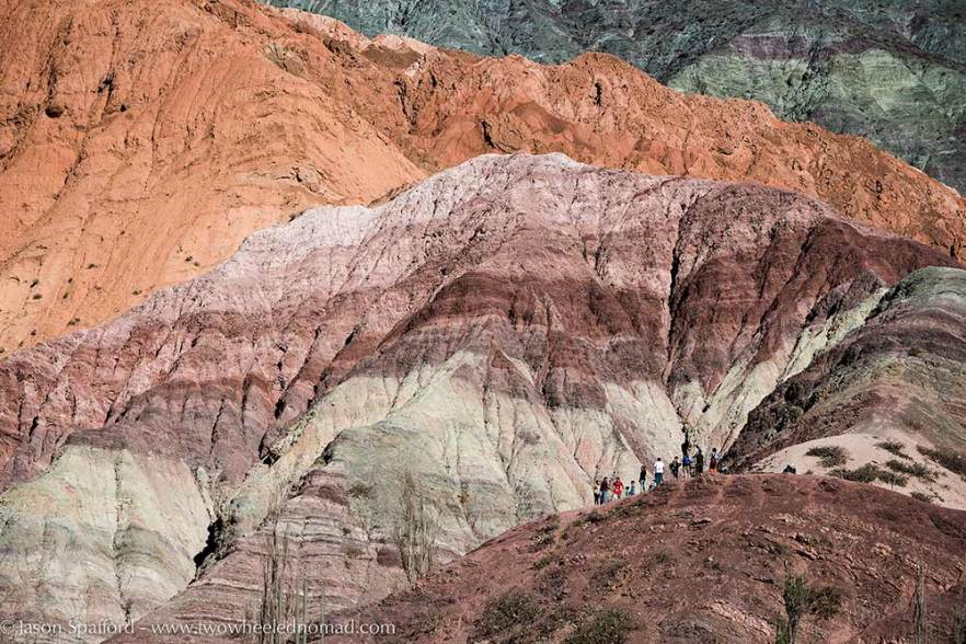 The Seven Coloured Hills of Purmamarca