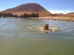 A hot spring dip