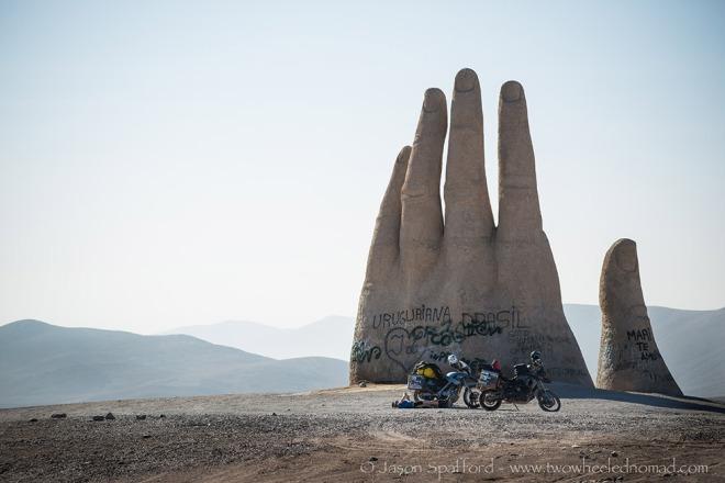 Hand of the desert.