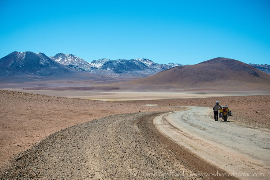 The road to El Tatio, Chile