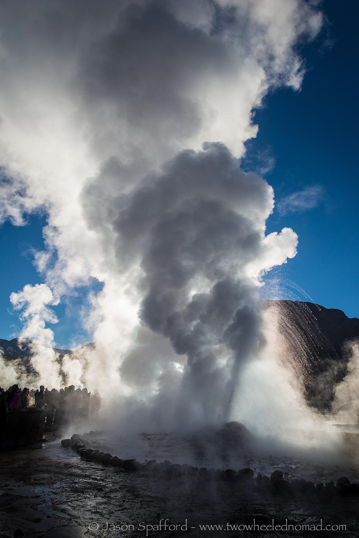 El Tatio, geyser.