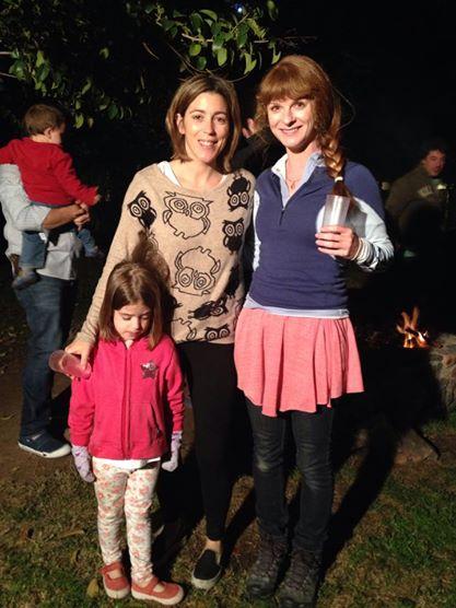 Veronica, Maite and Lisa