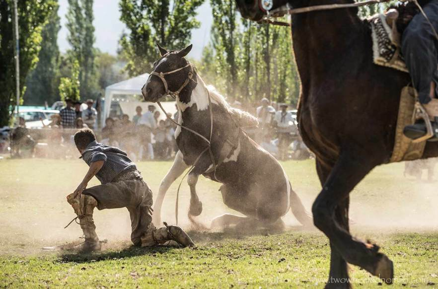 Rodeo in Mendoza, Argentina