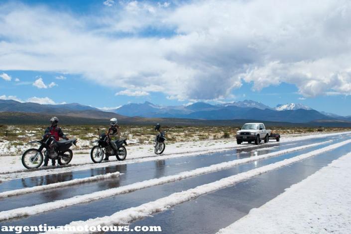 Freak snow-storm in Argentina's summer