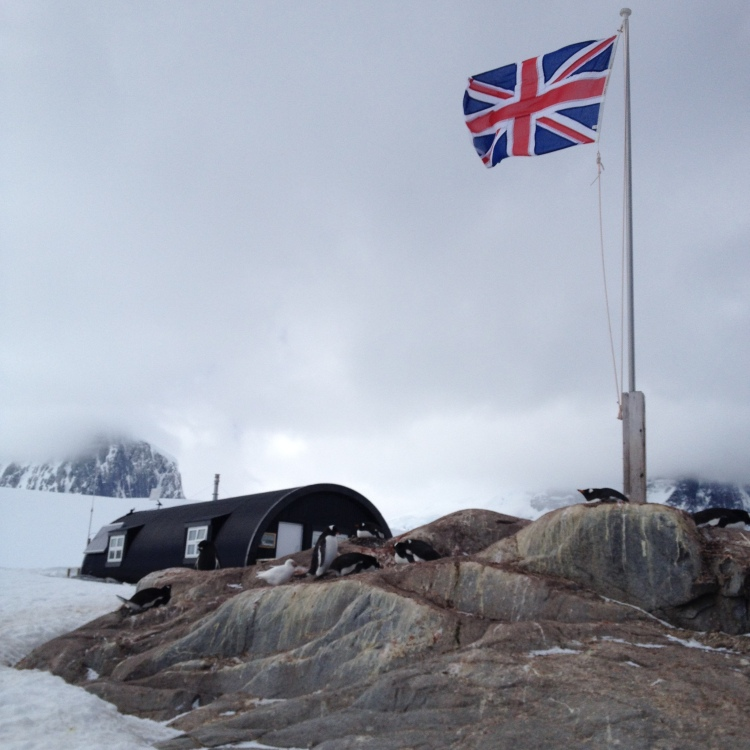 Port Lockroy, home to the British Antarctic Survey station