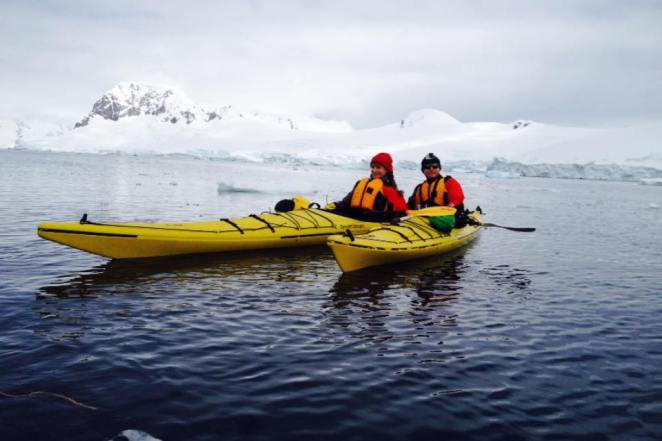 Chilling off Antarctic waters