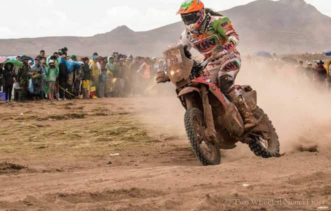 Barcelona-born Laia Sanz finishing 9th overall in the 2015 Dakar Rally - you GO GIRL!
