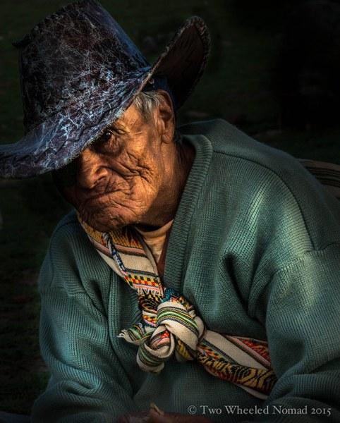 A local Bolivian