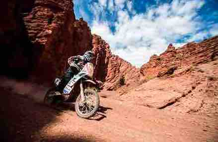 Back on the wagon for Simon Pavey in his tenth Dakar Rally