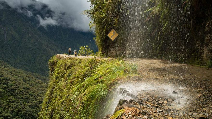 The Death road, Bolivia