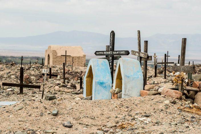 A cemetery near Nasca