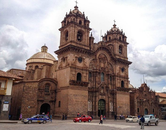 Pretty impressive architecture flows through Cusco