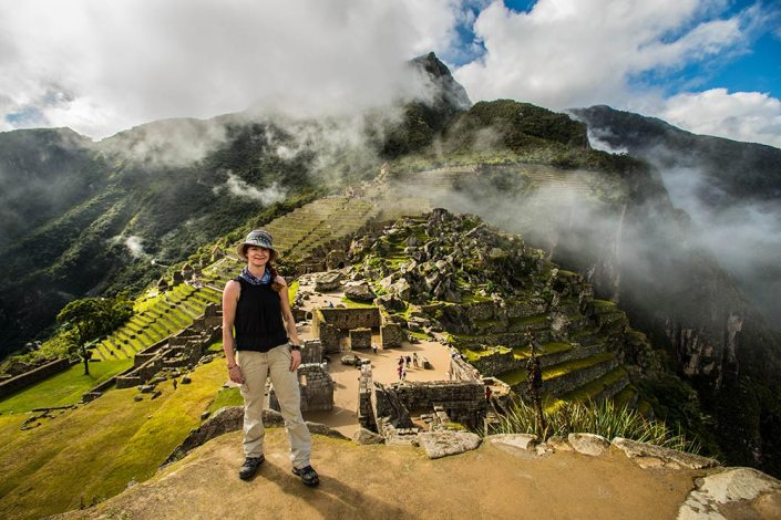 I almost had to pinch myself at Machu Picchu.