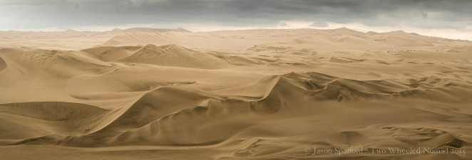 Panoramic dunes, Huacachina