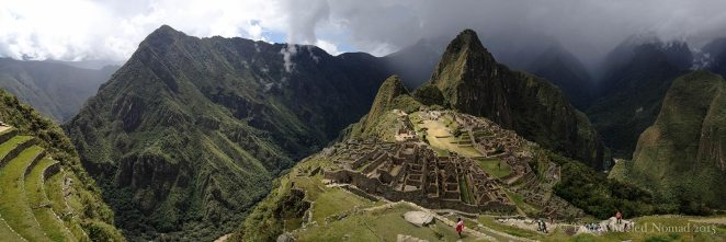 Machu Picchu is about as panoramic as it gets in Peru!