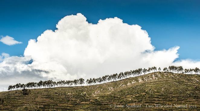 The Peruvian hills en route to Lake Titicaca
