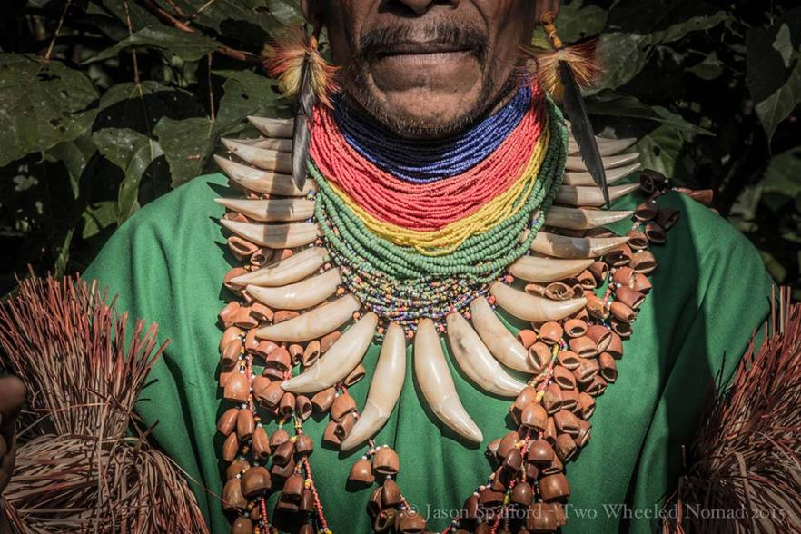 A shaman's everyday neck wear