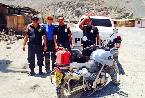 Thank goodness for the greatness of Peruvian police