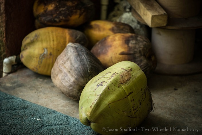 Anyone for roasted coconut?