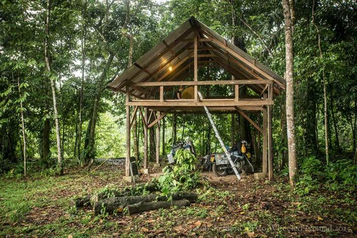 Our open-plan home at Selva Whitewater