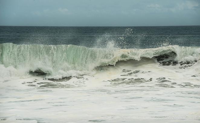Surf's up at Playa Venao beach, Panama