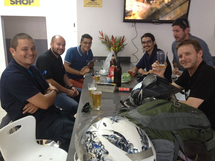 The Touratech Costa Rica 'dream team'!