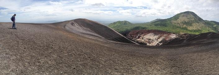 Volcanic vistas at Cerro Negro, Nicaragua