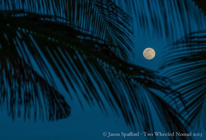 One pretty night sky, Rio Mar, Playa in El Salvador.