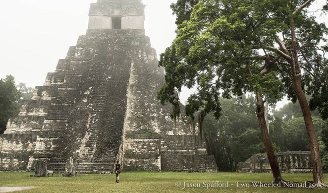 Tikal dates back 2,500 years - wild and ancient at the same time.