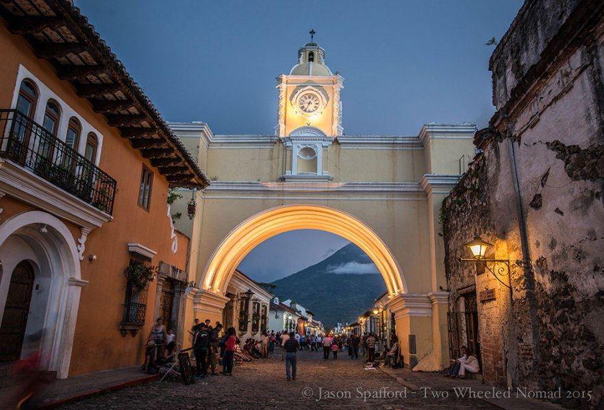 Antigua by night, not to be missed!