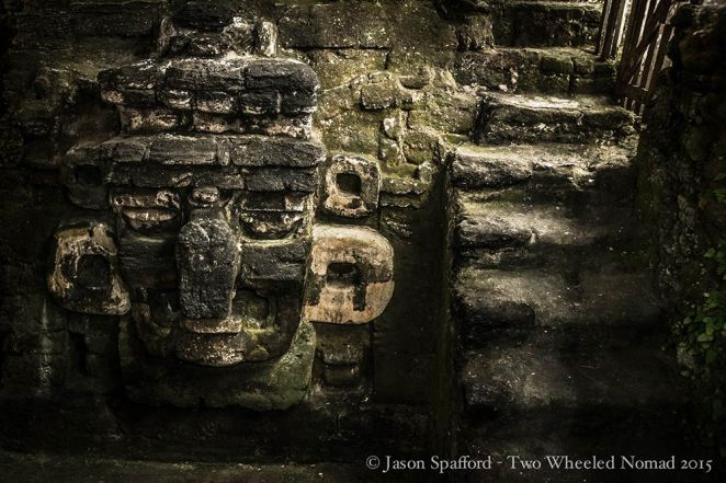 Incredible artistry in the remains at Tikal.