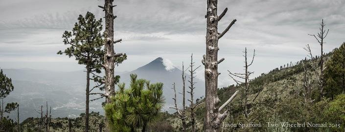 Volcano Aqua as seen from Acatenango
