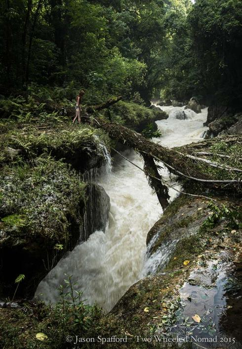 Roaring water and raging rapids at Semuc Champey!
