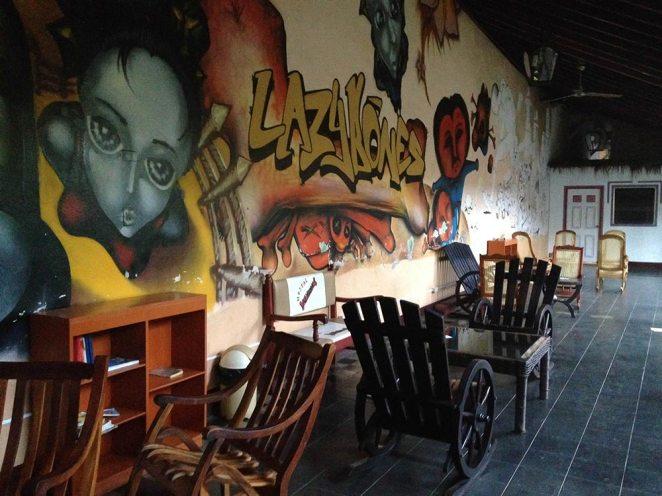 Lazy Bones Hostel, Nicaragua.
