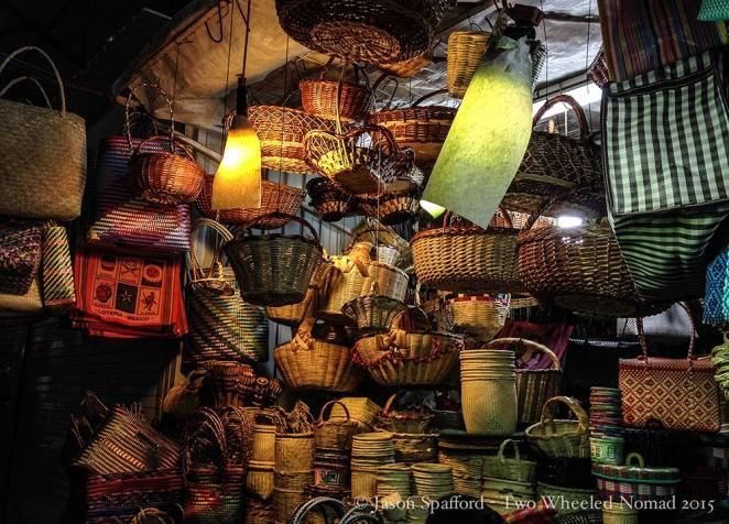 An Aladdin's Cave of just one of many varied indoor markets, Oaxaca city.