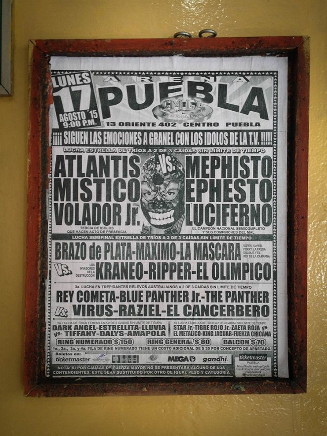 Fancy a night of Lucha Libre?