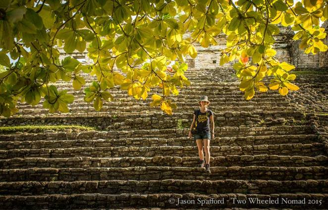 The stunning scenery is superabundant at Palenque