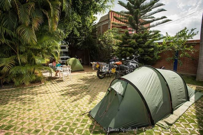 Camping at Overlander Oasis.