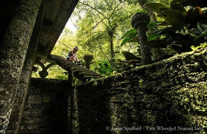 Getting lost in Edward's secret garden is a must.
