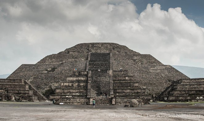 The Pyramid of the Moon, Teotihuacán