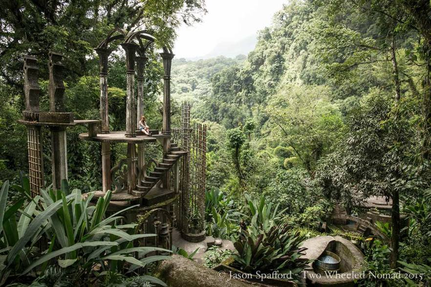 Otherworldly pretty: Las Pozas