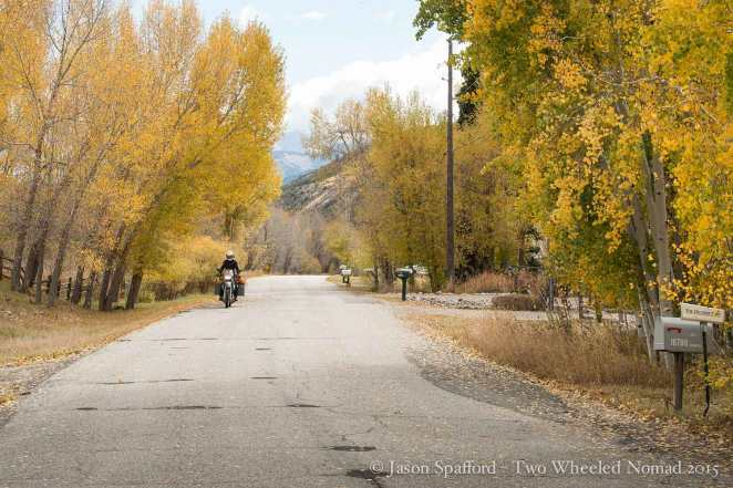Riding in Colorado's fall will stay with me forever