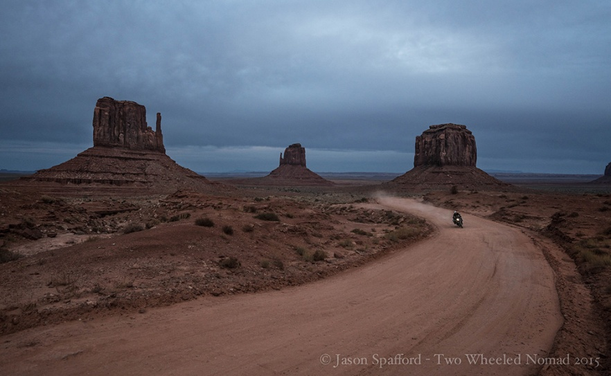 Feasting on the delectable dirt roads of Monument Valley