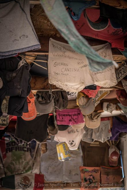 Knickers, knickers, bras and more knickers. Oh, and the odd nappy!
