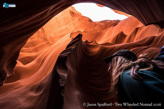 Taking photos at Antelope Canyon is like shooting fish in a barrel--not that Jase was complaining about that.