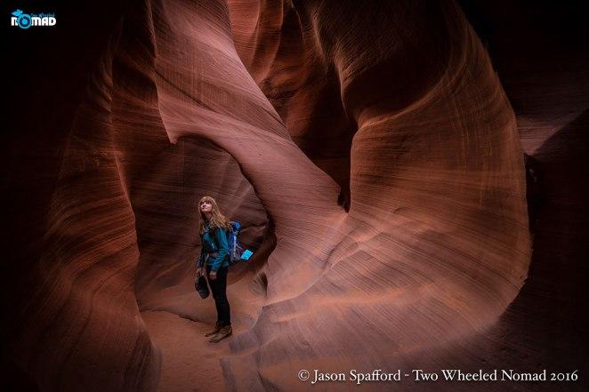Gawping at canyon greatness.