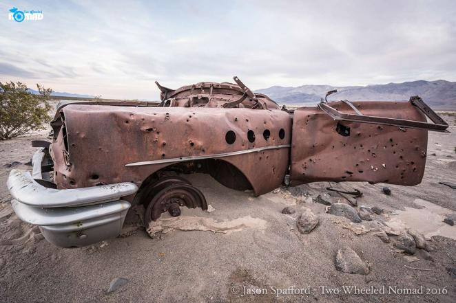 Could it be Thelma and Louise's old Cadillac?