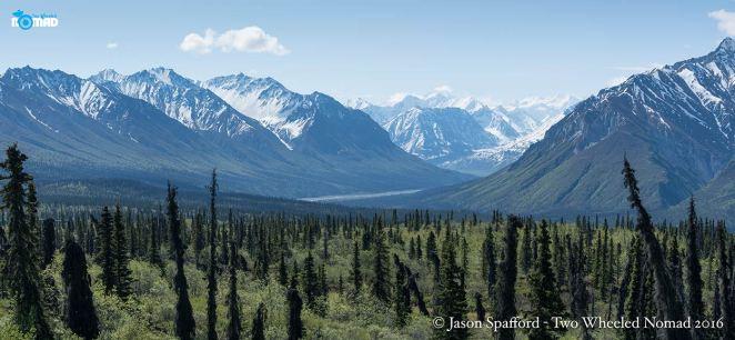 Lapping up Alaska.